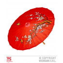 wholesale Parasols & Pavilions: SUNSHADE OF RED RICE PAPER ORIENTAL DELAYED