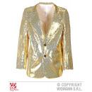 hurtownia Plaszcze & Kurtki: SHOWTIME Jacket  (złoty płaszcz cekinowe)