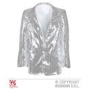 hurtownia Plaszcze & Kurtki: SHOWTIME Jacket  (Kurtka cekinami srebrne)