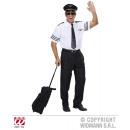 PILOT (Hemd, Krawatte, Hut)