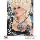 SET PEARLS AND RING WITH CAMEOROSEN AND BAROQUE