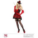 BURLESQUE GIRL (Kleid mit Strapse, Minizylinder)