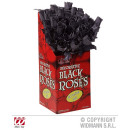 wholesale Artificial Flowers: BLACK ROSE 48er Display Box - 44 cm