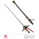 wholesale Toys: OLD FLORETT with  decorated SCABBARD 68 cm