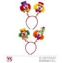 wholesale Toys: CLOWN HEADGEAR sort. in 2 colors