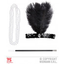 wholesale Toys: CHARLESTON (flower  hair band, cigarette holder)