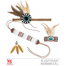 wholesale Toys: Indian (hair band,  earring, necklace, bracelet)