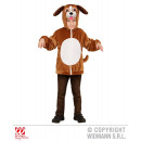 Perro de peluche (chaqueta con capucha y máscara)