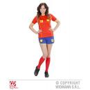 FUSSBALLSPIELERIN SPANIEN (T-Shirt, Shorts)