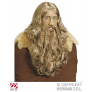 wholesale Toys: WIG WITH BEARD AND  VIKINGS SCHURRBART in Box