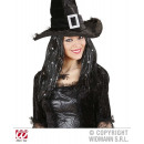 wholesale Toys: BLACK WITCHES WIG  WITH LAME  'THREADS AND ...