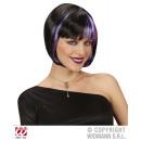 negro de vuelo rasante ZOEY con la racha púrpura -