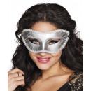 wholesale Toys: Eye mask Gabriella silver