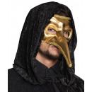 wholesale Toys: Eye mask Venice naso gold