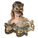 wholesale Toys: Mask Venice gatto 4 colors assorted