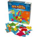 wholesale Puzzle: GeoPuzzle Europe 58 pieces (NL)