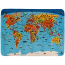 Children's Carpet World Map Dutch