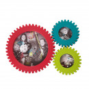 wholesale Pictures & Frames: Photo Frame - Gears Colors