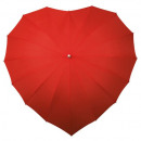 wholesale Umbrellas:Heart Umbrella - Red