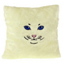 wholesale Cushions & Blankets:Cat Cushion - White