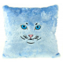 wholesale Cushions & Blankets:Cat Cushion - Light Blue