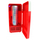 wholesale USB-Accessories: USB Desktop Refrigerator with LED Light - Red