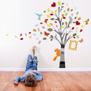 wholesale Wall Tattoos:Picture Tree Colored
