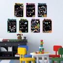 nagyker Mappák és iratrendezők: Gyerekek Diary Chalkboard matrica