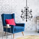 Walplus Möbel-Dekoration-Aufkleber-Set Kerzenleuch