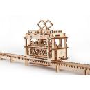 groothandel Geschenkartikelen: Ugears Houten Modelbouw, Tram
