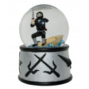 wholesale Snow Globes:Snow Globe Ninja Sound