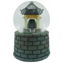 wholesale Snow Globes: Snow Globe Temple Bell with sound