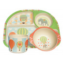 wholesale Child and Baby Equipment: Ecoffee Cup BimBamBoo Kids Eat Set - Wild Zodiac
