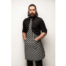 wholesale Shirts & Blouses: Tie & Tie Apron Apron Chef Black and Grey Tabb