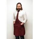 wholesale Shirts & Blouses: Tie & Tie Apron Apron Chef Black Bordeaux Ge
