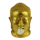 wholesale DVDs, Blue-rays & CDs: Rotary Hero Buddha Tissue Box Holder - Gold