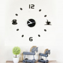 Walplus Acrylic DIY Coffee Wall Clock - 43cm