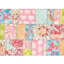 wholesale Greeting cards: Exclusive Edition Colored Squares Flower Carpet