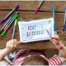 nagyker Iskolai kiegészítők: EatSleepDoodle Case - To színek
