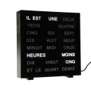LED Word Clock - French 17 x 16.5 cm