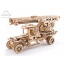 groothandel Geschenkartikelen: Ugears Houten Modelbouw, Brandweertruck