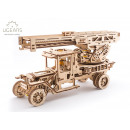 Ugears Wooden Model Construction - Brandweertruck