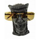 Rotary Hero Tiki Glasses Holder - Black