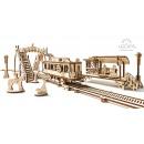 Ugears Wooden Model Construction - Tram Line