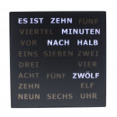 LED Word Clock - German 28 x 28 cm
