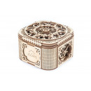 wholesale Giftware: Ugears Wooden Model Building - Treasure Chest