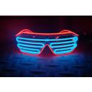 Großhandel Home & Living: IA blaue und rote LED leuchten Gläser