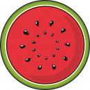 wholesale Bath & Towelling: Giggle Beaver Watermelon - Bath towel - 150x150c