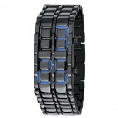 Großhandel Markenuhren:Eisen-Samurai-Uhr-Blau