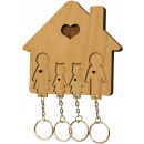 wholesale DVDs, Blue-rays & CDs: Key Holder with Key set - Family with